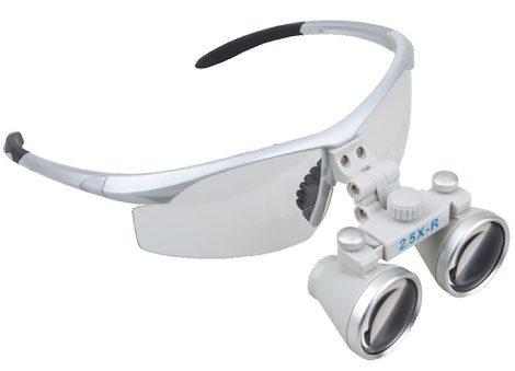 Orvosi Nagyító műanyag védőszemüvegen, 2,5X