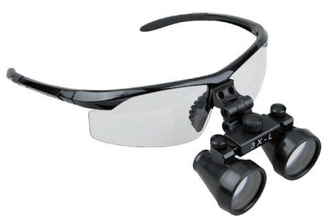 Orvosi Nagyító műanyag védőszemüvegen, 3X