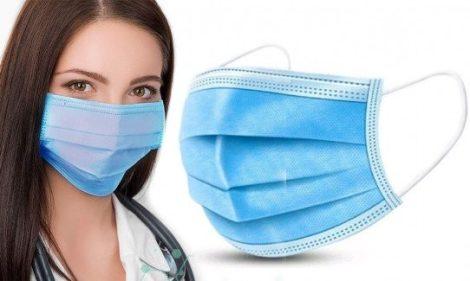 Sebészeti 3 rétegű maszk